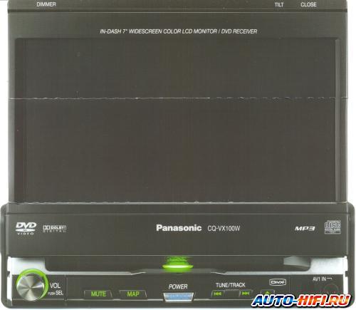 Panasonic cq-vx100w руководство по подключению