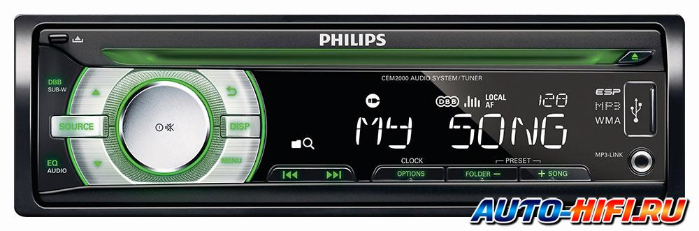 Автомагнитола Philips CEM2000/51