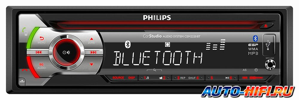 Автомагнитола Philips CEM2220BT/12