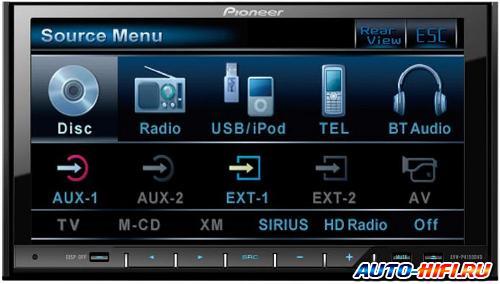 Автомагнитола Pioneer AVH-P4100DVD