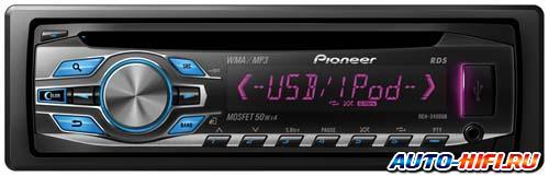Автомагнитола Pioneer DEH-3400UB