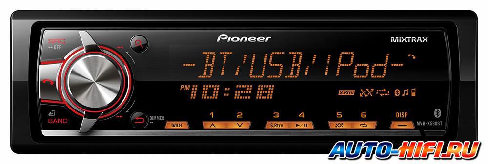 Pioneer Mixtrax Mvh-x560bt инструкция - фото 2