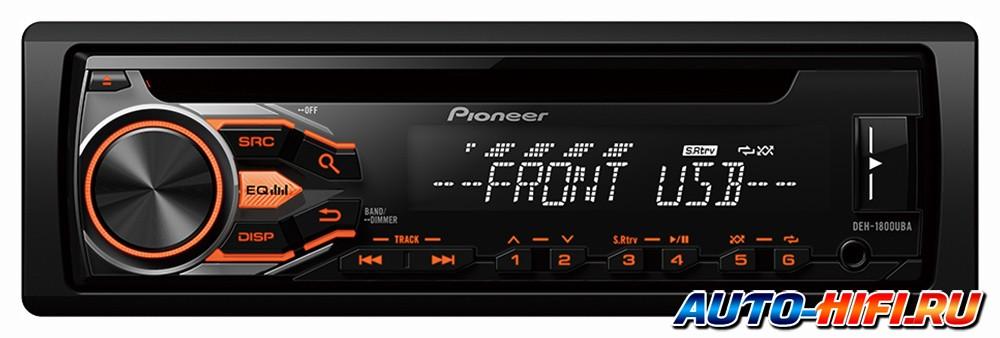 Pioneer deh 1800uba инструкция