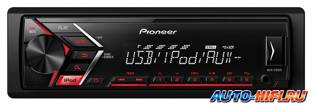 Автомагнитола Pioneer MVH-S100UI - фото 3