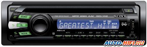 Автомагнитола Sony CDX-GT39UE