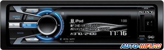 Автомагнитола Sony DSX-S300BTX