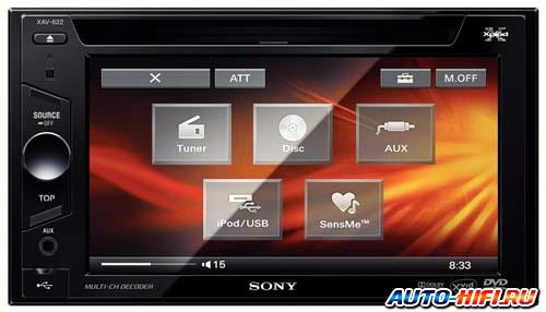 Автомагнитола Sony XAV-E622