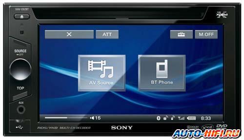 Автомагнитола Sony XAV-62BT