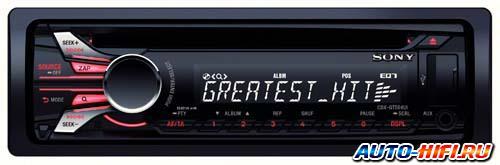 Автомагнитола Sony CDX-GT564UI