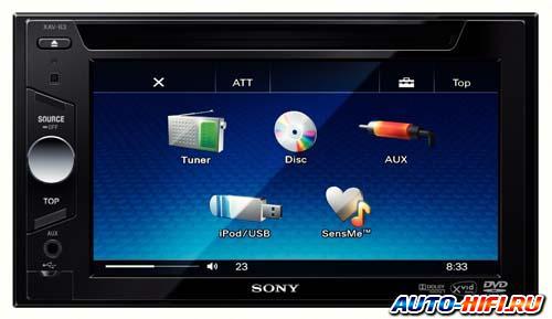 Автомагнитола Sony XAV-63
