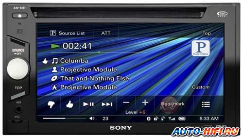 Автомагнитола Sony XAV-64BT