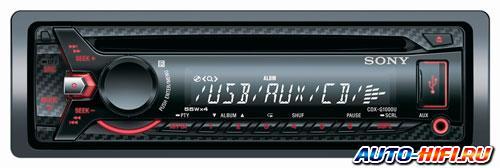 Автомагнитола Sony CDX-G1000U