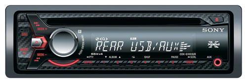 Автомагнитола Sony CDX-G1003UR