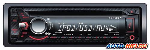 Автомагнитола Sony CDX-G2000UI
