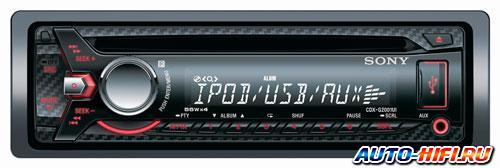 Автомагнитола Sony CDX-G2001UI