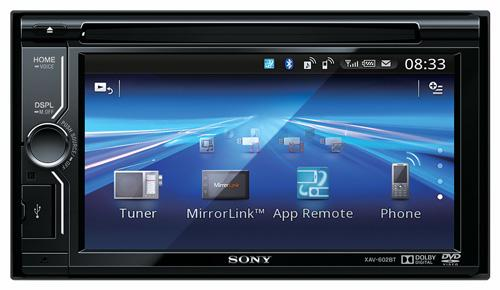 Автомагнитола Sony XAV-602BT
