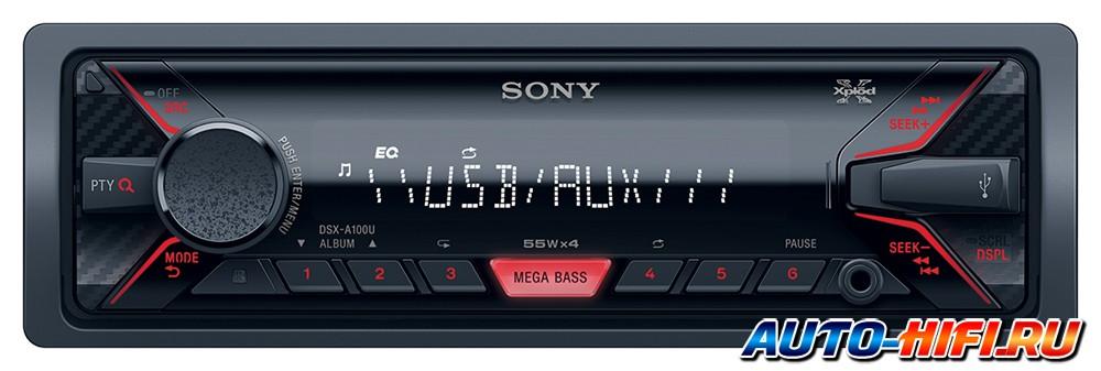 USB-Автомагнитола Sony DSX-A202UI/Q - фото 9