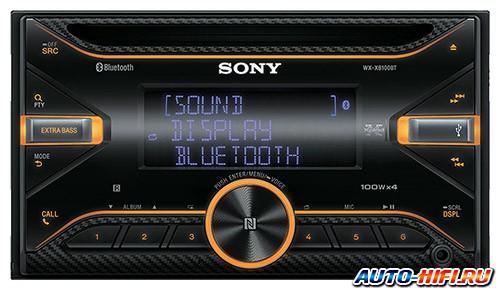 Автомагнитола Sony WX-XB100BT