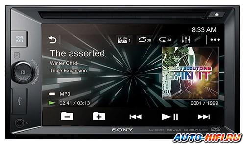 Автомагнитола Sony XAV-W651BT