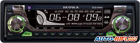 Автомагнитола Supra SCD-504U
