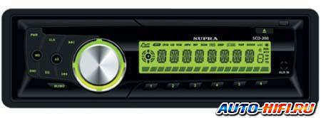 Автомагнитола Supra SCD-200