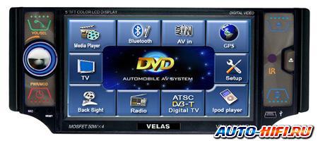 Автомагнитола Velas VDM-MB502TV