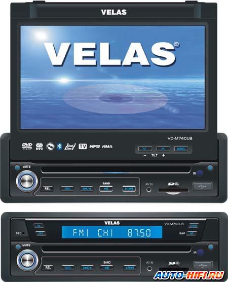 Автомагнитола Velas VD-M740UB