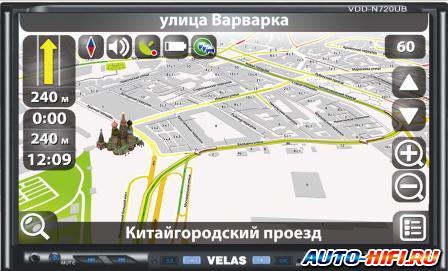 Автомагнитола Velas VDD-N720UB