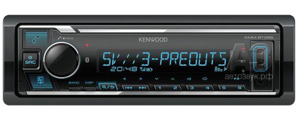 Тест бездискового ресивера Kenwood KMM-BT356 с поддержкой Hi-Res Audio