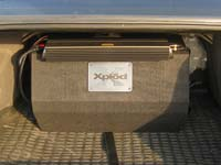 Установка сабвуфера Sony XS-GTX120LT в Chevrolet Epica