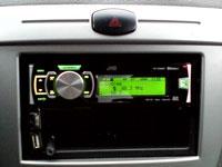 Фотография установки магнитолы JVC KD-SD80BT в Chevrolet Lacetti