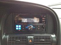 Фотография установки магнитолы Alpine CDE-W233R в Chevrolet Rezzo