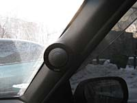 Установка акустики Eton CX 280 V в Daewoo Nexia