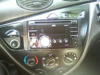 Фотография установки магнитолы JVC KW-XR417EE в Ford Focus