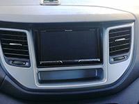 Фотография установки магнитолы Pioneer AVH-Z5100BT в Hyundai Tucson