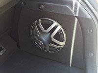 Установка сабвуфера Hertz ES 250D.5 в Hyundai i30