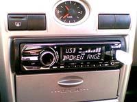 Фотография установки магнитолы Sony CDX-GT650UI в Lada Priora