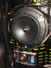 Установка акустики Eton RSE 160 в Lexus NX200T