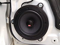 Установка акустики MTX TX465C в Mazda 3