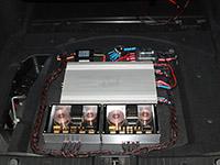 Установка усилителя Рязаньприбор X1 mk2 в Mersedes-Benz W211