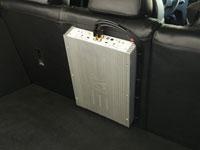 Установка усилителя Рязаньприбор X1 mk2 в Nissan Qashqai