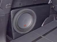 Установка сабвуфера Alpine R-W12D4 в Nissan X-Trail