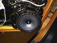 Установка акустики Alpine SPG-17CS в Peugeot 307