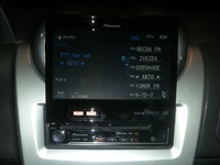 Фотография установки магнитолы Pioneer AVH-P6300BT в Renault Sandero