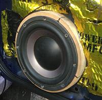 Установка акустики DLS Nobelium 6.2 в Subaru Impreza