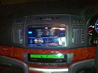 Фотография установки магнитолы JVC KW-R400EE в Toyota Allion