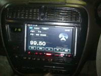 Фотография установки магнитолы Prology MDN-2740T в Toyota Carina