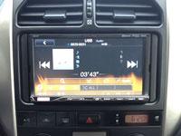 Фотография установки магнитолы Alpine ICS-X7 в Toyota RAV4