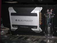 Установка усилителя Blaupunkt GTA 475 в VAZ 21053