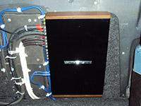 Установка усилителя u-Dimension EL-A54 в VAZ 2109